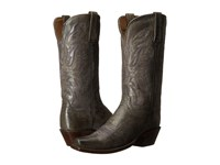 Lucchese Mabel Anthracite Grey Cowboy Boots Gray