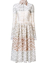 Sophie Theallet 'Paysage Terre' Dress White