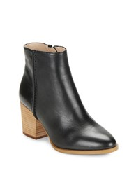 French Connection Banji Leather Ankle Boots Black