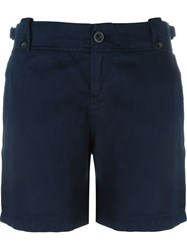 Diesel Button Fastening Shorts Blue