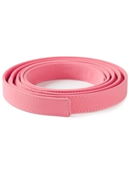 Ermanno Scervino Stitched Belt Pink And Purple