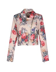 Darling Suits And Jackets Blazers Women Pink
