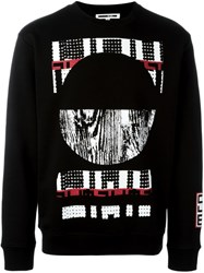 Mcq By Alexander Mcqueen Tribal Print Sweatshirt Black