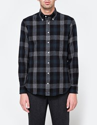 Gitman Brothers Vintage 2 Sided Check Flannel Black