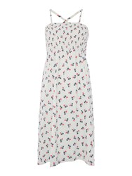 Lily And Me Strappy Beach Dress White