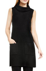 Vince Camuto Women's Two Pocket Turtleneck Sweater