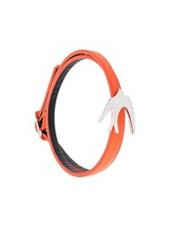 Mcq By Alexander Mcqueen 'Swallow' Double Wrap Bracelet Yellow And Orange