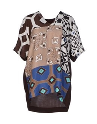 I'm Isola Marras Blouses Dark Brown