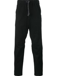 White Mountaineering Drawstring Trousers Black