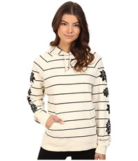 Obey Geneva Pullover Natural Multi Women's Clothing