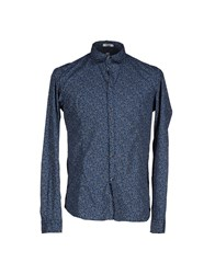 Officina 36 Shirts Shirts Men Dark Blue