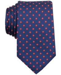 Nautica Men's Barge Textured Floral Pattern Classic Tie