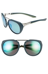 Nike Women's Flex Motion 54Mm Sport Sunglasses Matte Midnight Teal