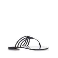 Vince Camuto Mariella Flat Slip On Strappy Sandals Black