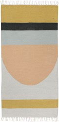 Ferm Living Kelim Semi Circle Rug