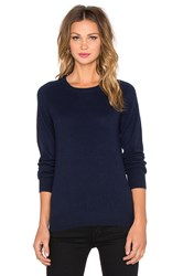 Ag Adriano Goldschmied Rylea Crew Neck Sweater Navy