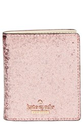Women's Kate Spade New York 'Glitter Bug Small Stacy' Wallet Pink Rose