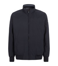 Paul And Shark Washed Blouson Jacket Male Navy
