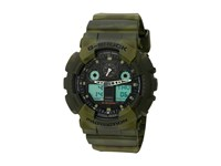 G Shock Ga 100Mm 3Acr Green Marble Sport Watches