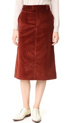 A.P.C. Constance Skirt Whiskey