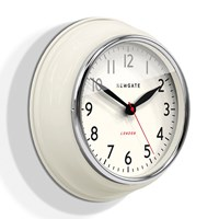 Newgate Clocks The Cookhouse Wall Clock Linen White