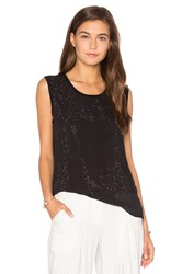 Generation Love Yaya Beaded Tank Black