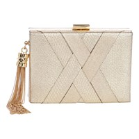 Coast Gigi Clutch Bag Champagne