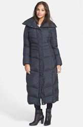 Women's Cole Haan Long Down And Feather Fill Coat