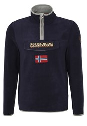 Napapijri Tosy Fleece Jumper Blu Marine Blue