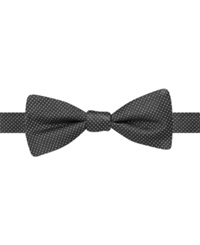 Ryan Seacrest Distinction Stardom Pindot Bow Tie Black