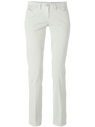 Jacob Cohen Classic Low Rise Trousers Nude And Neutrals
