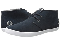Fred Perry Byron Mid Suede Navy Cloudburst Men's Lace Up Casual Shoes