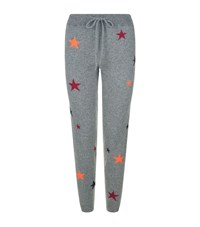 Chinti And Parker Star Cashmere Sweatpants Female Grey