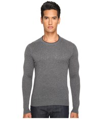 Jack Spade Jersey Stitch Crew Neck Sweater Grey Men's Sweater Gray