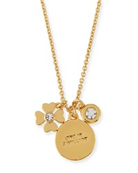 Crystal Charm Pendant Necklace Women's Star Kate Spade New York