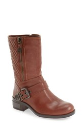 Vince Camuto Women's 'Whynn' Moto Boot Chocolate