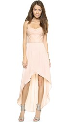 Bcbgmaxazria Leandra Dress Light Bare Pink