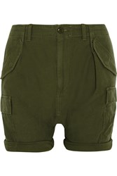 Nlst Cotton Cargo Shorts Green