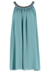 Esprit Collection Cocktail Dress Party Dress Dusty Green Mint