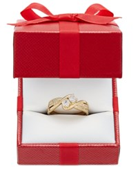 Two Souls One Love Diamond Stone Engagement Ring 1 2 Ct. T.W. In 14K Gold Or 14K White Gold Yellow Gold