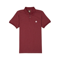 Pretty Green Polka Dot Polo Shirt Red