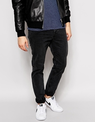 Dr. Denim Dr Denim Jeans Clark Slim Fit Black Vintage Wash