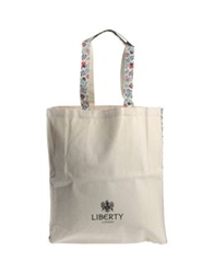Liberty London Large Fabric Bags Ivory