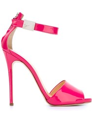 Giuseppe Zanotti Design Stiletto Sandals Pink And Purple
