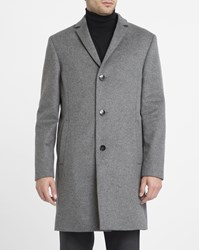 Calvin Klein Grey Wool And Cashmere Coat