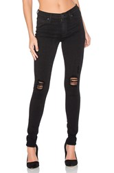Hudson Jeans Nico Distressed Skinny Black