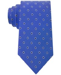 Club Room Men's Drifters Dot Pattern Classic Tie Only At Macy's Blue