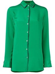 Etro Classic Button Down Shirt Green