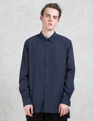 Superism Declan Button Up L S Oxford Shirt