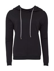 Green Lamb Soft Dri Lounge Hoodie Black